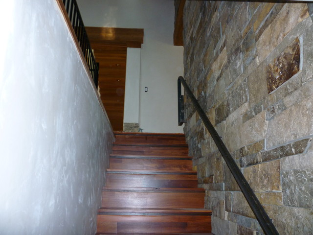 Living Spaces contemporary-staircase