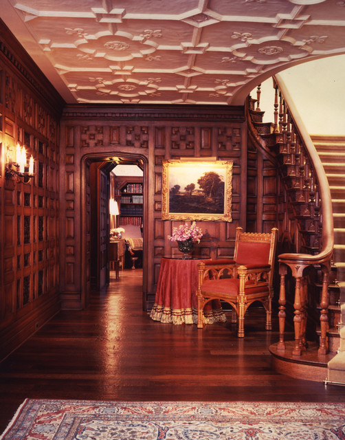 Chicago Residence Entry traditional-staircase