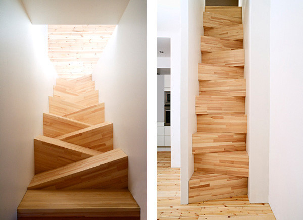 Loft access stairs and ladders contemporary-staircase