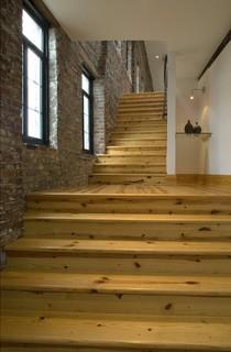 Loft apartment - Modern - Staircase - st louis - by Studio Durham Architects
