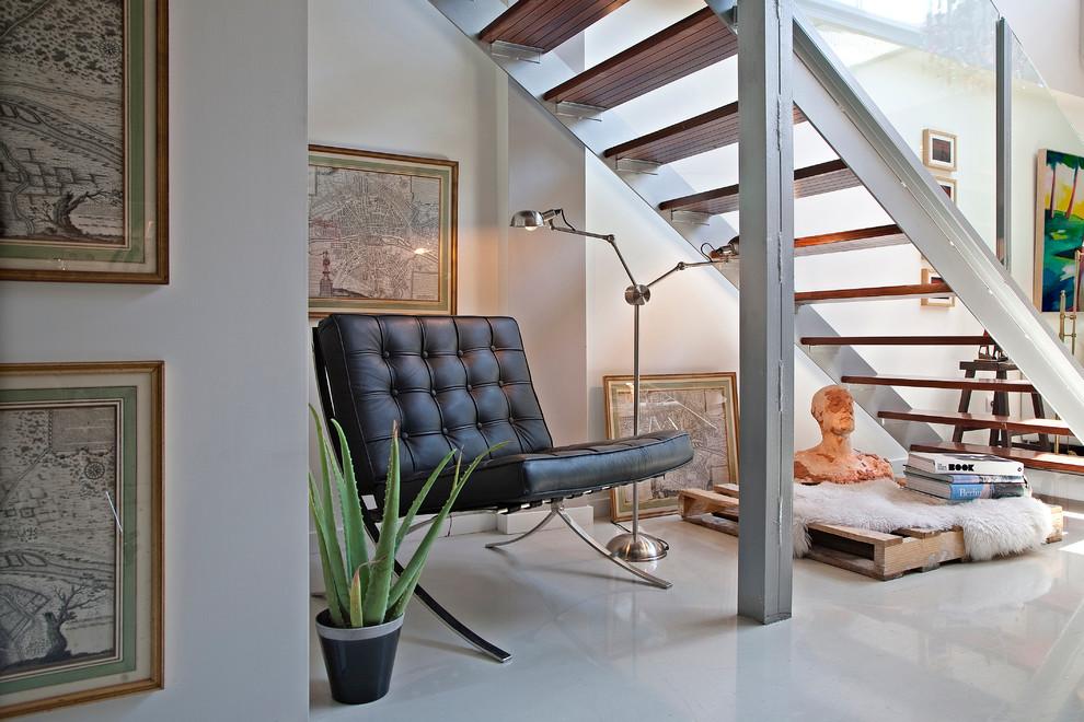 Loft In San Blas Madrid Es Eclectic Staircase
