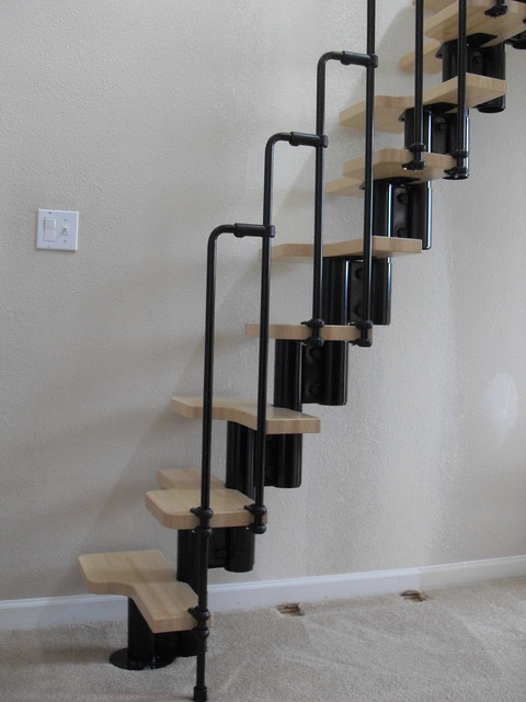 Awesome Loft Ladder Contemporary Staircase
