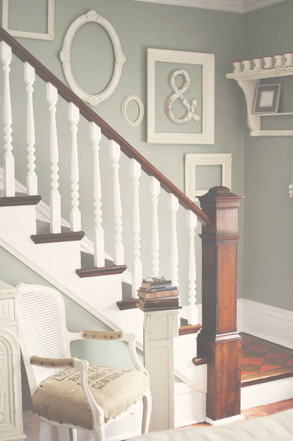 Lola B's traditional-staircase