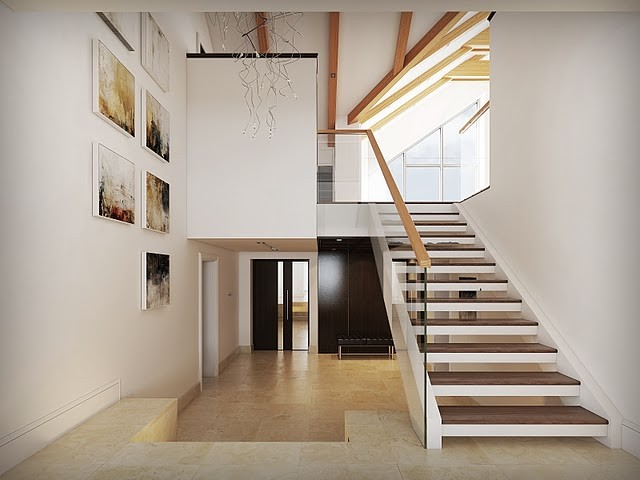 traditional staircase by Lompier Interior Group