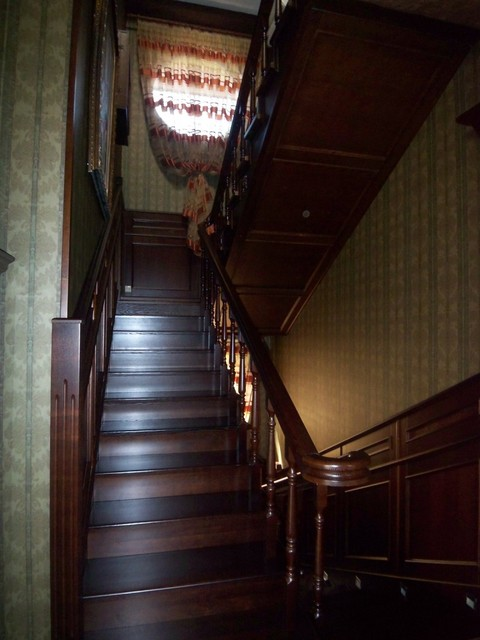 Lompier Interior Group traditional-staircase