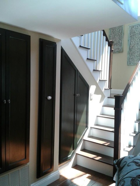 Long Beach Whole Home Remodel beach-style-staircase