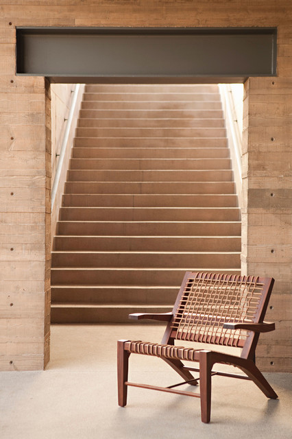 Longfellow Drive contemporary-staircase