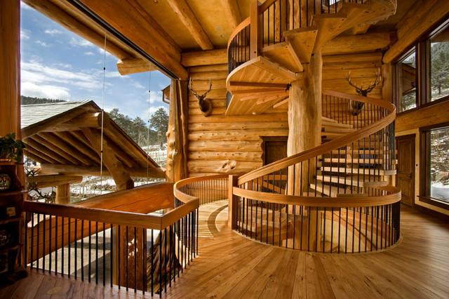 Top Loveland - Montagne - Escalier - Denver - par Pioneer Log Homes of  VN92