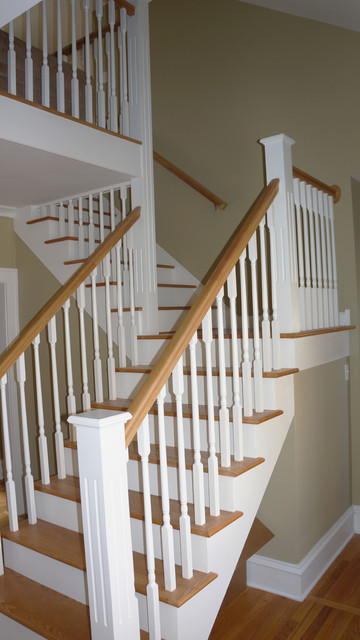 Lower Level Home Makeover - Medici traditional-staircase