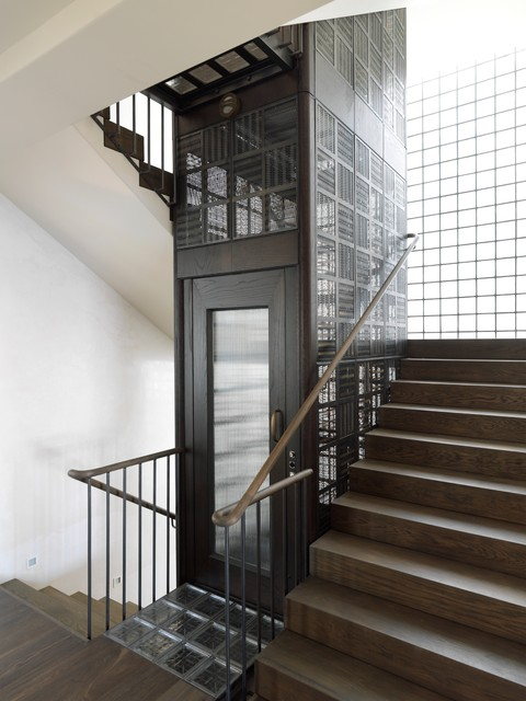 Exceptional Luigi Rosselli Architects   Birdcage Lift Enquiry Transitional Staircase