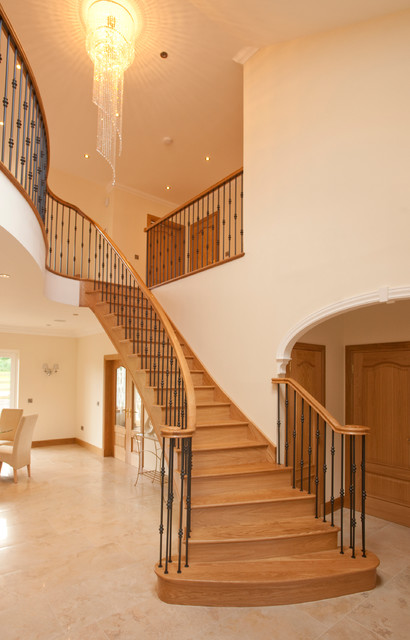 Luxury Staircase Fife Contemporary Staircase