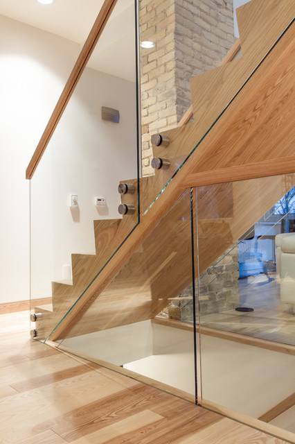 And Hand Railing Modern Staircase Other By Wood Anchor