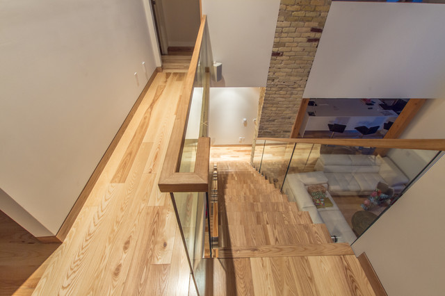 Lyndale Street House Staircase And Hand Railing Modern Staircase