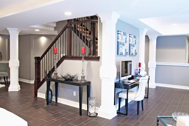 M.J. Whelan Construction - Contemporary - Staircase - Detroit - by M.J. Whelan Construction
