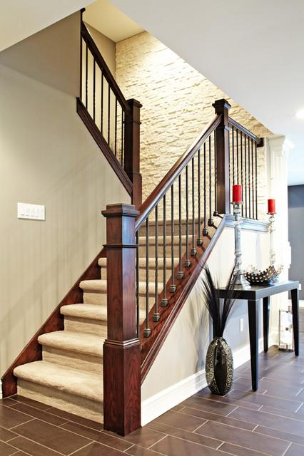 M.J. Whelan Construction contemporary-staircase