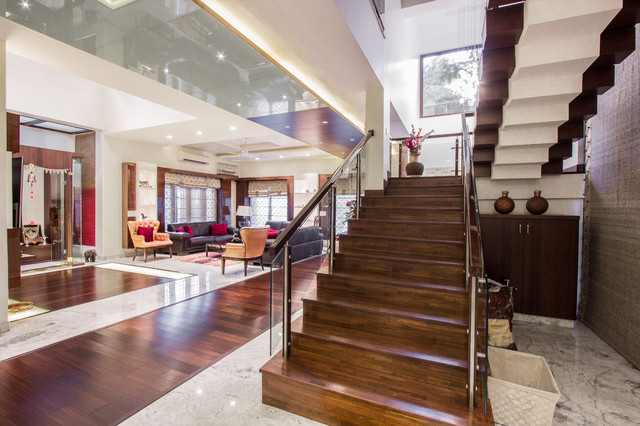 M2 House contemporary-staircase