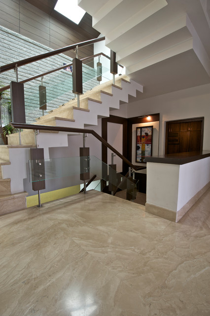 M3 House contemporary-staircase