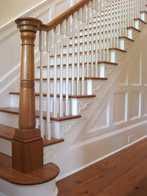Madison traditional traditional staircase by hall for Garden room joseph smith building