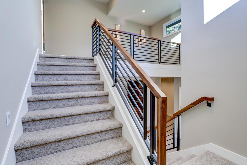 Madrid Mm 4611 Mk Modern Staircase Portland By Mark Stewart Home Design