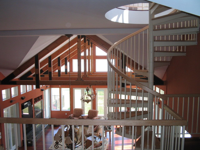 Magothy Second Home contemporary-staircase