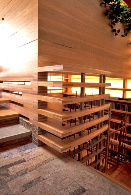 Maibu Cove Colony-1 contemporary-staircase