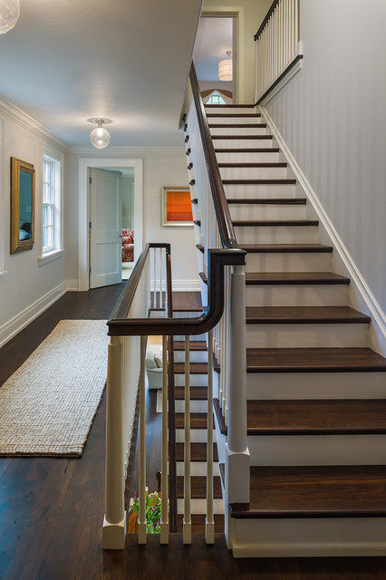 Main Line Residence traditional-staircase