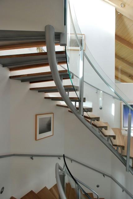 malibu cove colony-2 modern-staircase
