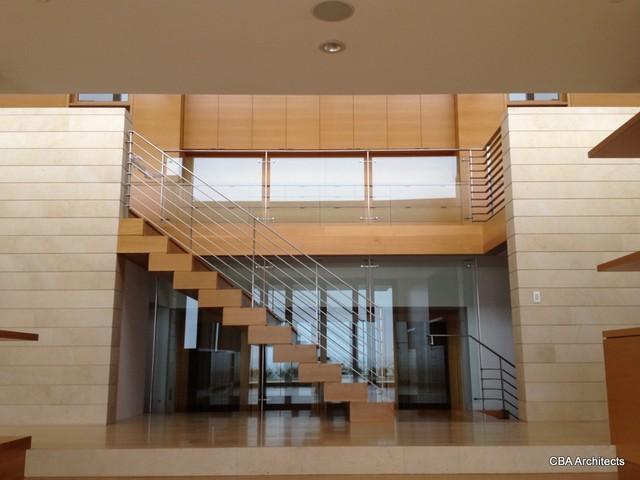 Malibu Home contemporary-staircase