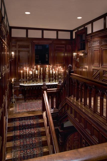 Malinard Manor Stairwell Victorian Staircase
