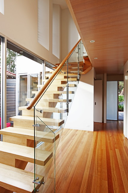 Manly House contemporary-staircase