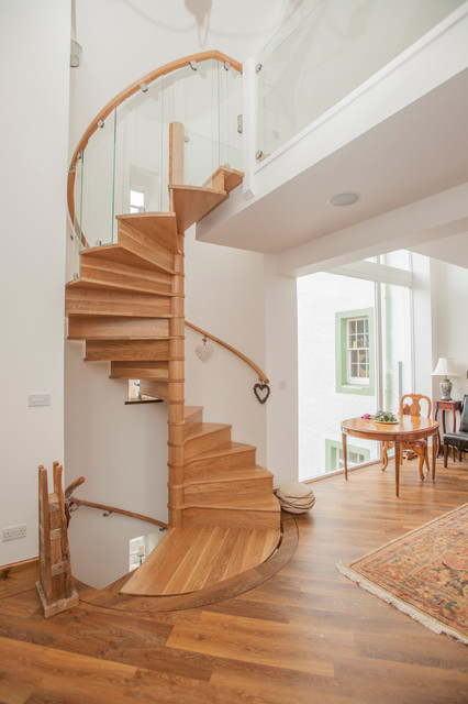 Manse Refurbishment Anstruther Contemporary Staircase