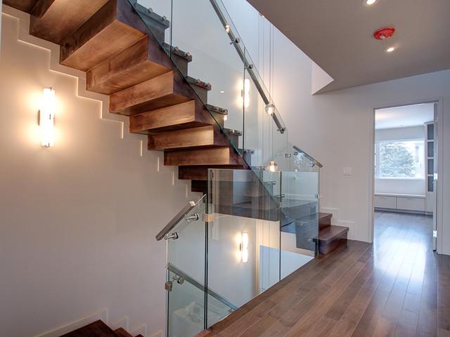 Marda Loop 2 contemporary-staircase