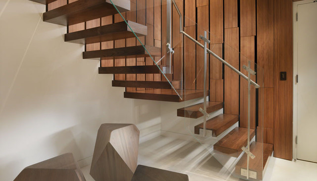 Market Street Penthouse contemporary-staircase