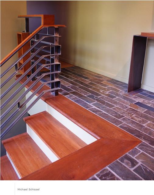 Marlborough Railing contemporary-staircase