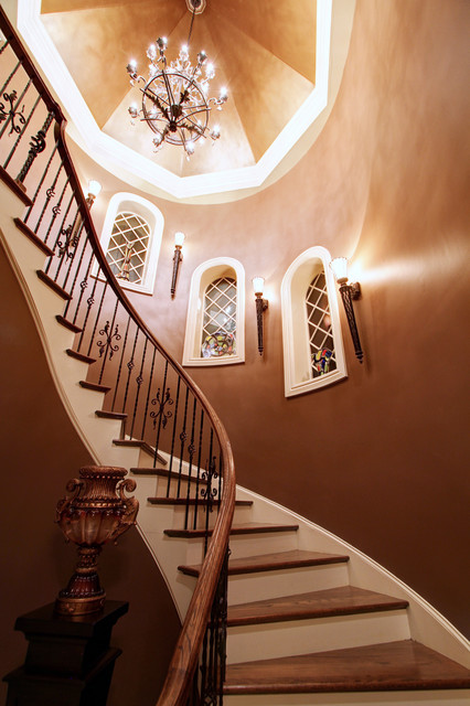 Marvin, NC traditional-staircase