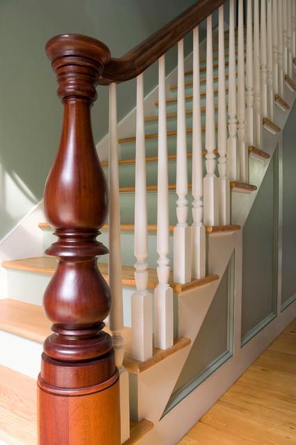 Sarah Taylor farmhouse-staircase