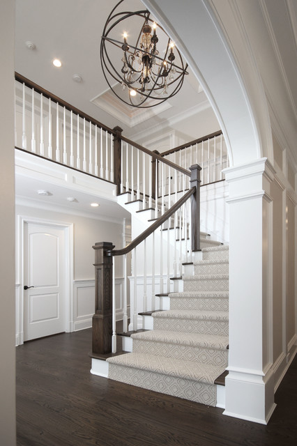 Mayflower Avenue Full House Renovation transitional-staircase