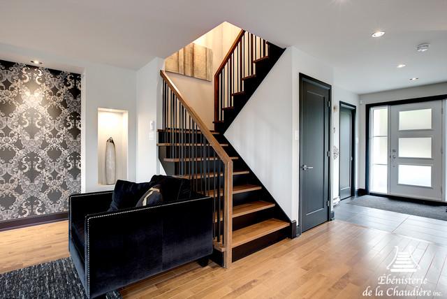 Mb maison modele 2015 - Contemporain - Escalier - Autres périmètres ...