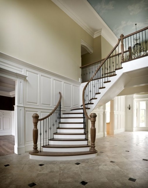 McKayArchitects traditional staircase