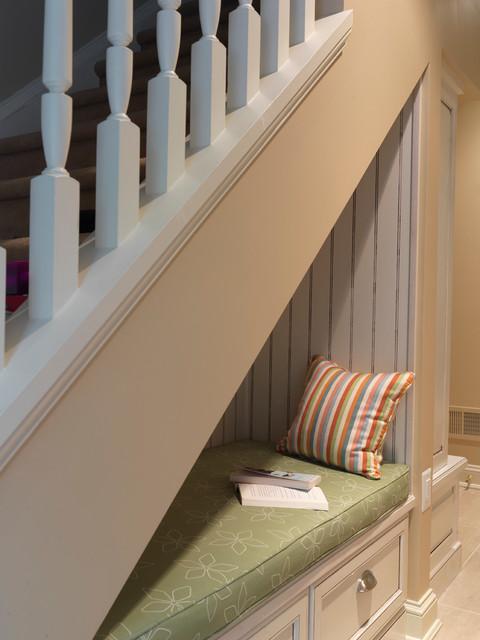 Lighting Basement Washroom Stairs: McLean Laundry/Mud Room