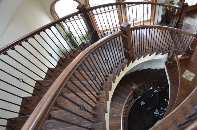 Mediterranean Arches staircase