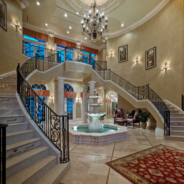 Mediterranean Staircase mediterranean-staircaseGrand Double Staircase