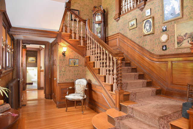 Melrose Colonial Estate Victorian Staircase
