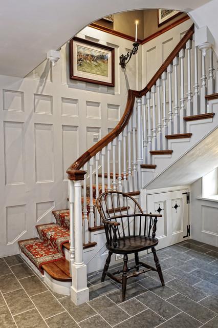 Mercer HIll Farm - Staircase farmhouse-staircase