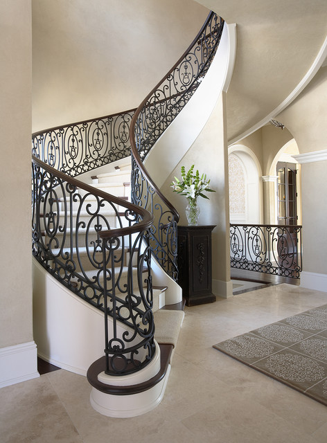 Merilane Avenue Residence 2 Staircase traditional-staircase