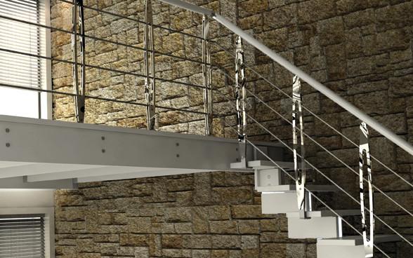 Mezzanines modern-staircase