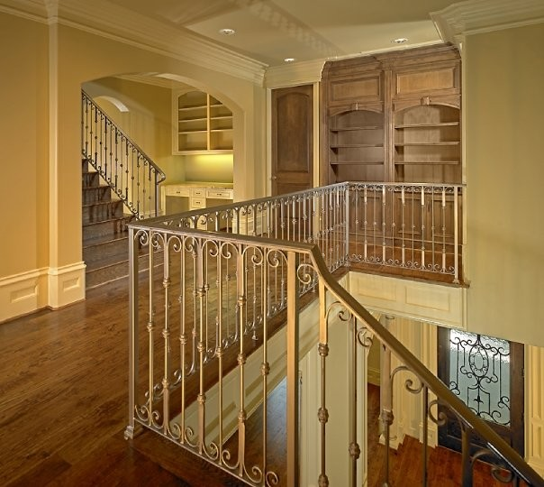 Luxury Home Interior Staircase: MICHAEL MOLTHAN LUXURY HOMES INTERIOR DESIGN GROUP
