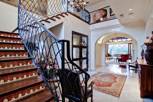 Charmant MICHAEL MOLTHAN LUXURY HOMES INTERIOR DESIGN GROUP Mediterranean Staircase