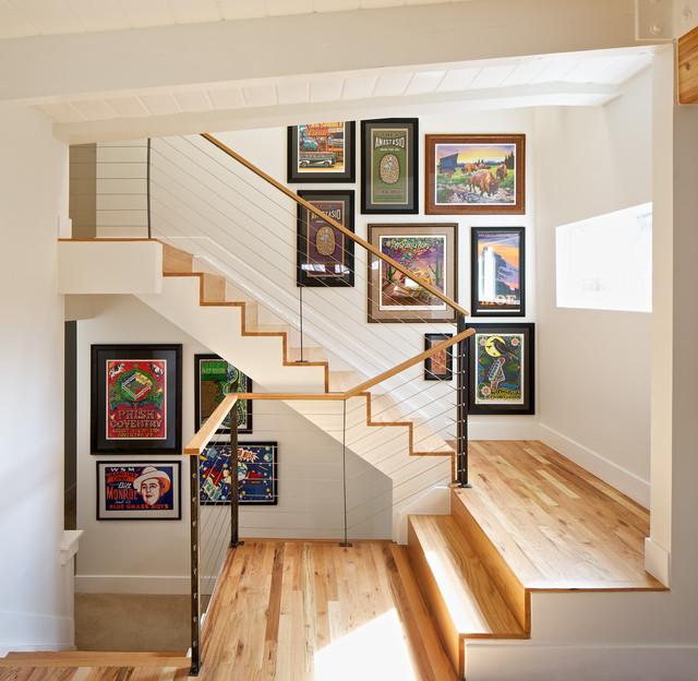 Mid Century Modern Residence Modern Staircase Denver