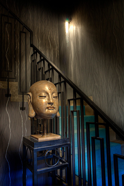 Mid-town Project eclectic-staircase